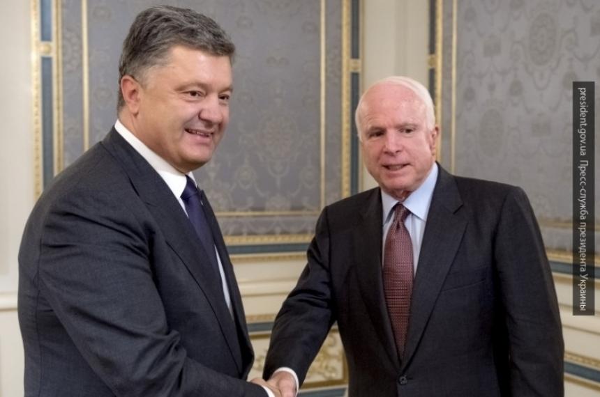 Маккейн пообещал Украине летальное оружие для обороны
