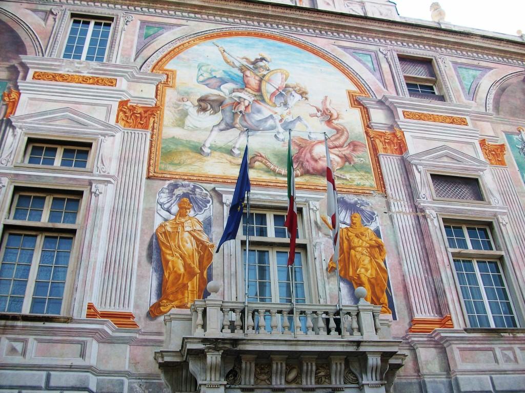 Генуя, дворец Сан Джордже