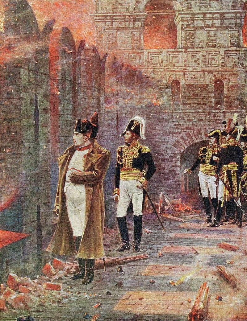 1812 год в картинках в.в верещагина