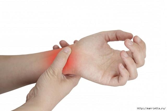 Боль в запястье левой руки причины лечение
