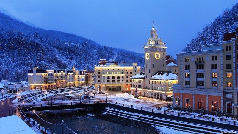 1. Сочи природа, путешествие, россия, туризм