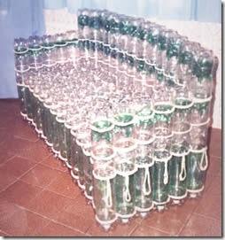 Мебель на дачу из пластиковы…