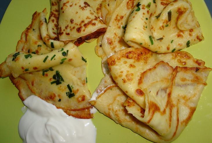 Картофельные блинчики, да со сметанкой