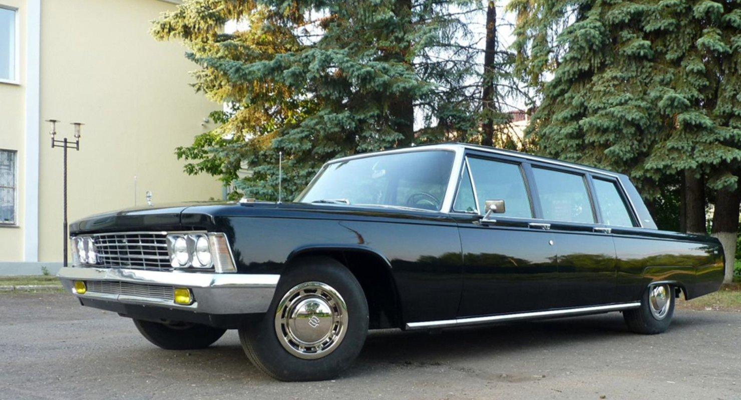 Лимузин времен Брежнева выставили на продажу за 19 млн рублей Автомобили