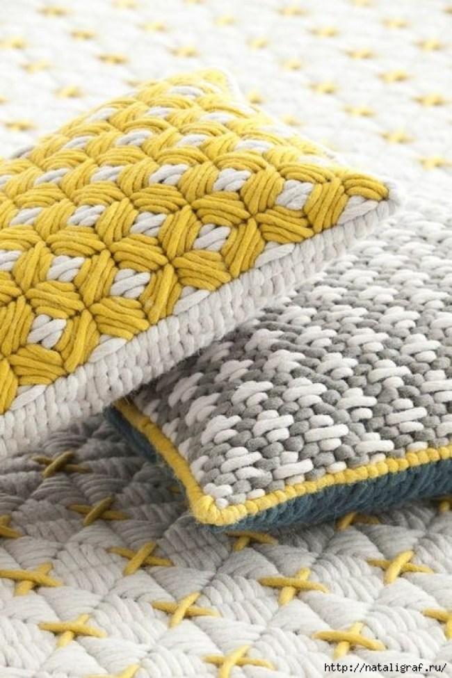 Необычная вышивка на сетке: Барджелло