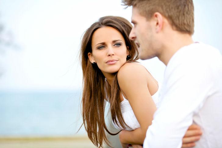 Как женщины любят мужчин глазами