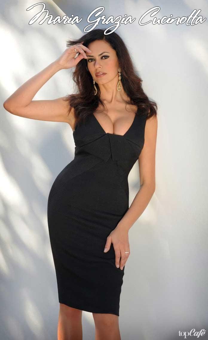 Любимые итальянские актрисы: Maria Grazia Cucinotta