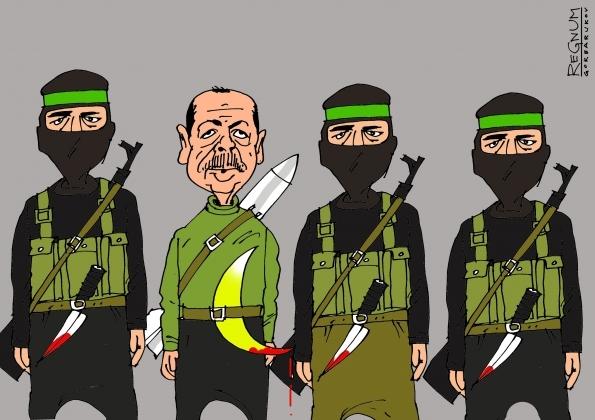 """Эрдоган - """"крёстный отец"""" ИГИЛ - до сих пор поддерживает террористов."""