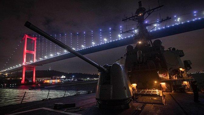 Корабль США в Черном море русские встретили репетицией удара из «Калибра»