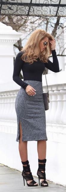 Выкройка юбки с завышенной талией