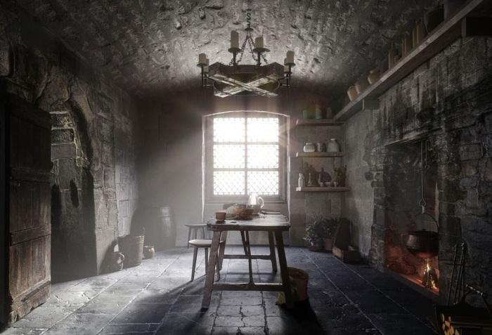 Эволюция дизайна кухни за последние 500 лет: от Средневековья до современной эстетики идеи для дома,интерьер и дизайн