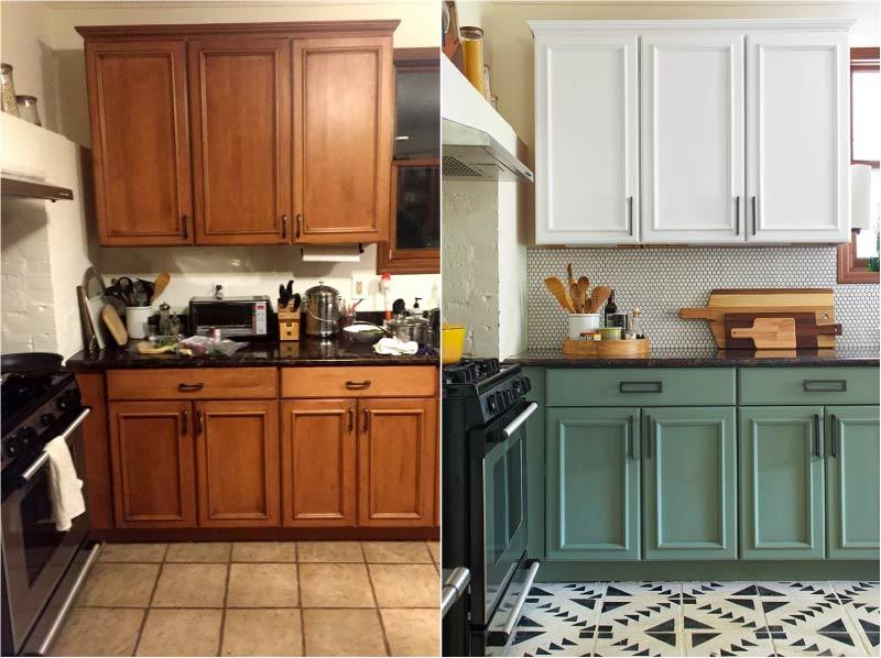 как обновить кухонный гарнитур своими руками фото они