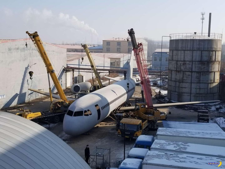 Китаец сам себе делает Airbus A320