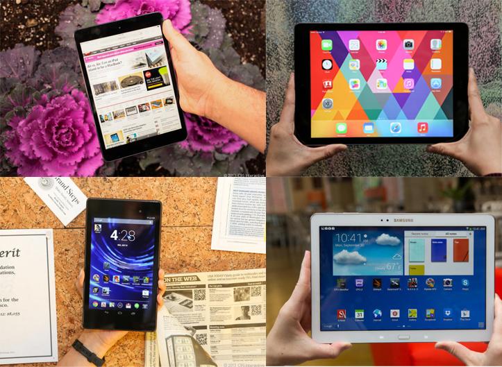 Четыре лучших планшета прямо сейчас