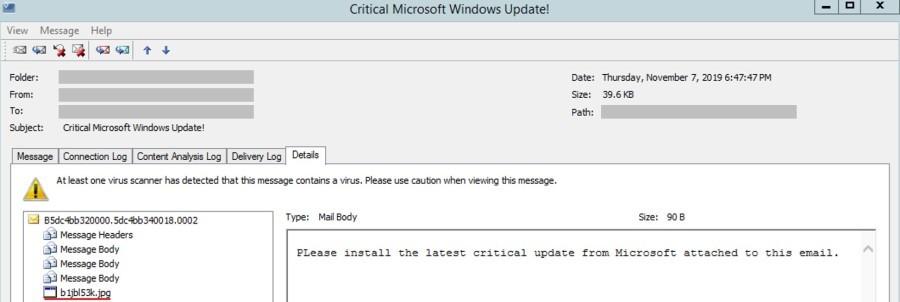 Фальшивое обновление Windows заражает системы приложением-вымогателем Cyborg windows,вредоносное ПО,обновление,технологии