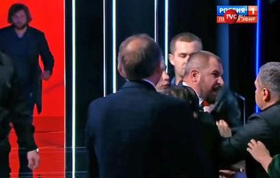 Сурайкин набросился на Шевченко во время дебатов