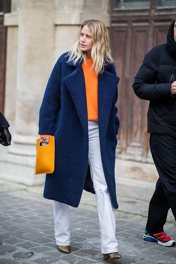 Как носить синий - самый модный цвет 2020 года фото №27