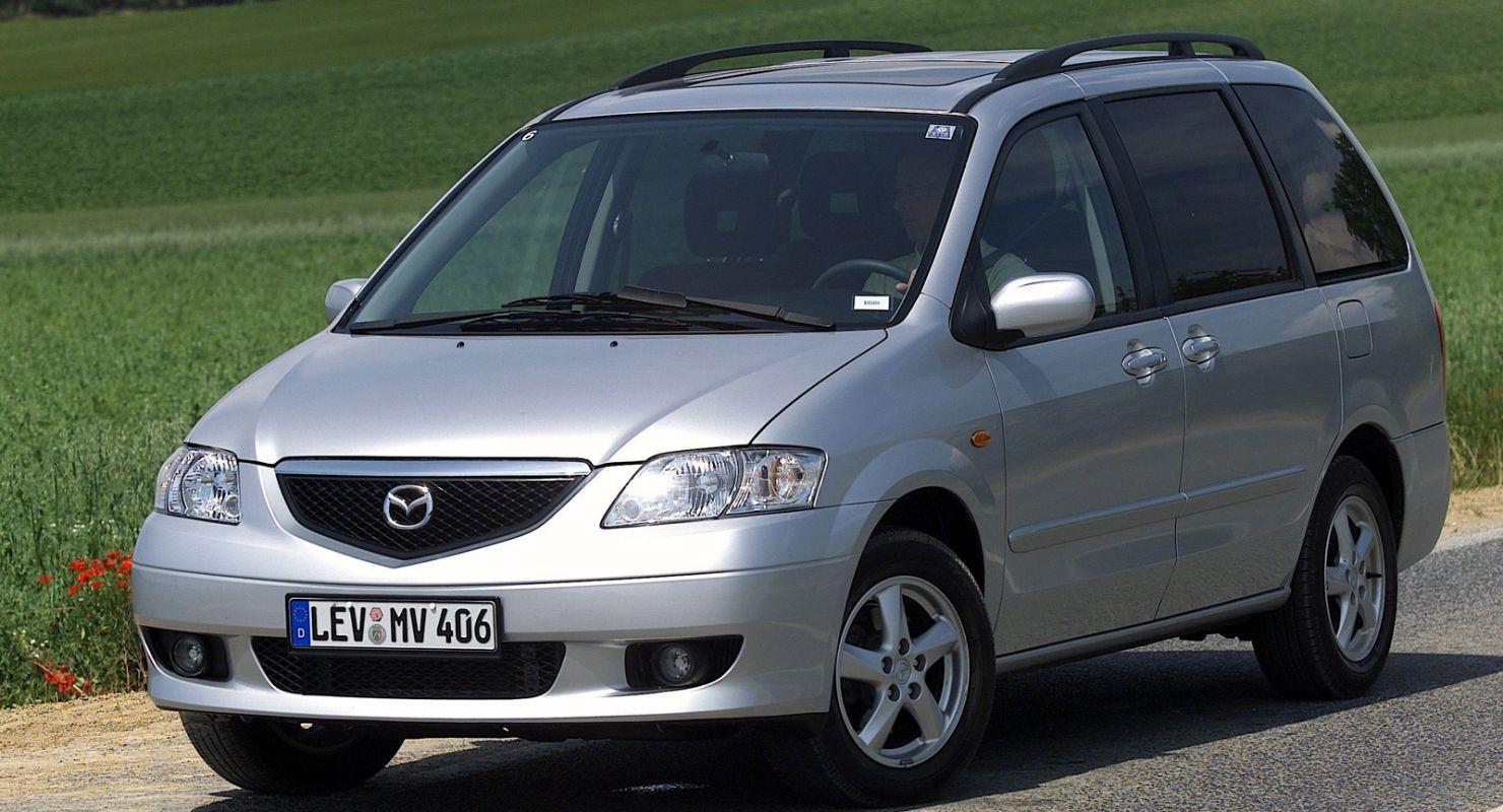 Обзор японского минивэна Mazda MPV Автомобили