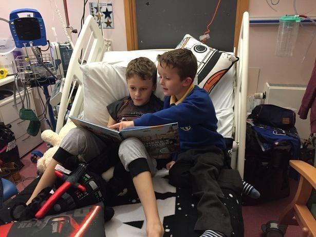 Умирающий от рака мальчик изо всех сил хотел дождаться рождения младшей сестренки