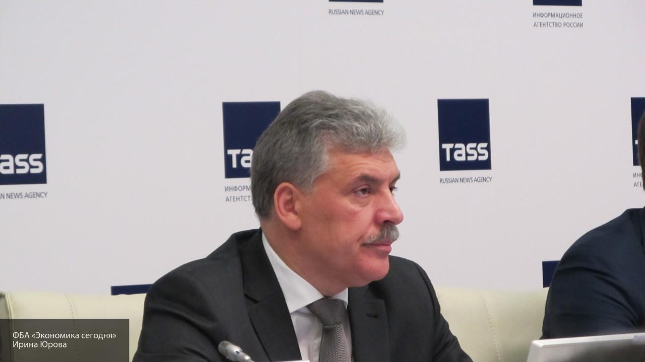 «Человек бизнеса, а не политик»: Бабурин оценил кандидатуру Грудинина на выборах