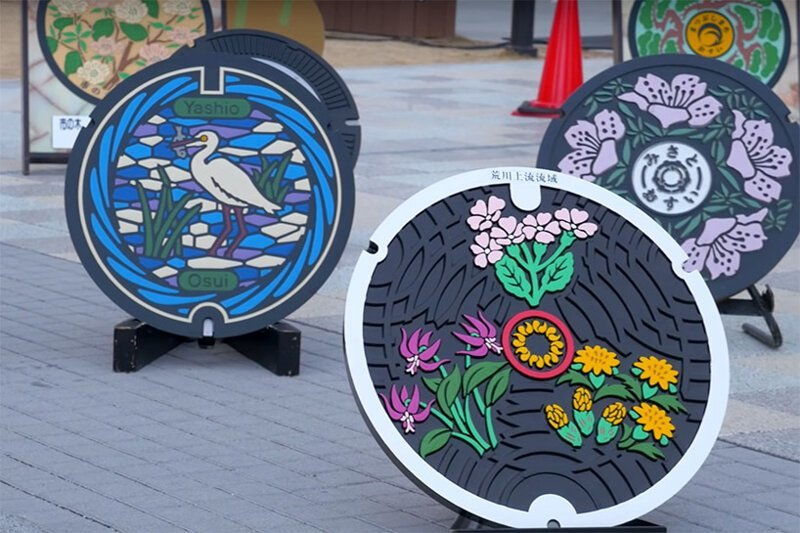 6. Фестиваль канализационных люков Их нравы, интересно, традиции, фото, япония