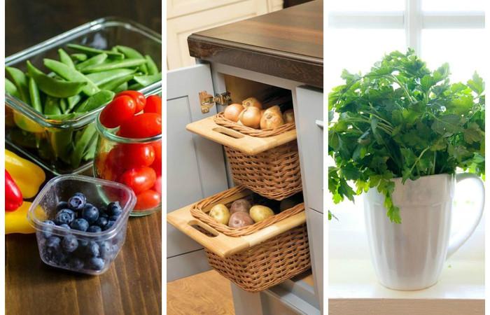 10 золотых правил как хранить овощи и фрукты