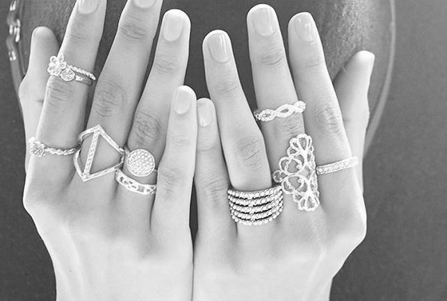 На каких пальцах лучше не носить кольца