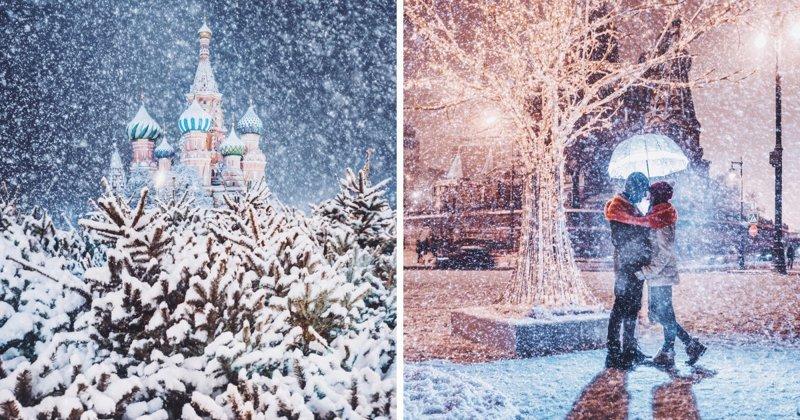 Белоснежная сказка: заснеженная Москва в фотографиях Кристины Макеевой