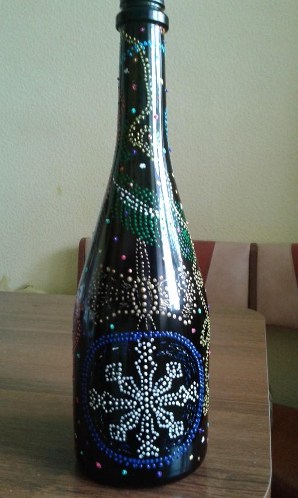 Новогодняя бутылочка