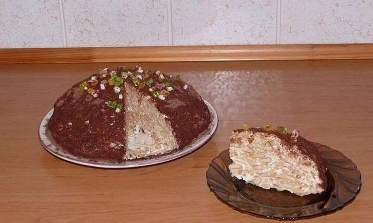 ГЕНИАЛЬНЫЙ тортик с БАНАНОМ