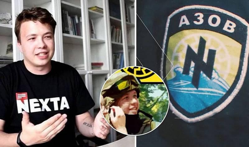 Протасевич воевал с ополченцами Донбасса в рядах нацистских батальонов Новости