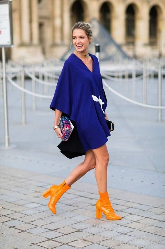 Как носить синий - самый модный цвет 2020 года фото №13
