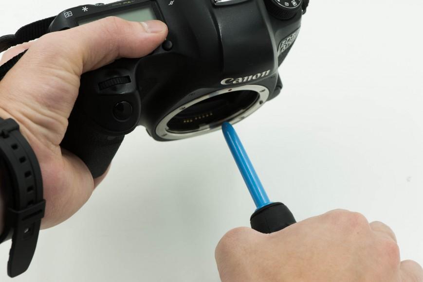как помыть матрицу фотоаппарата верят