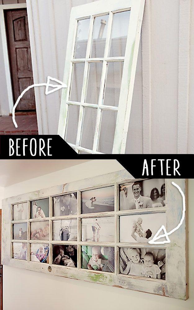 Дверь со стелянными проймами можно превратить в рамку двери, полезные советы, своими руками, сделай сам, фото