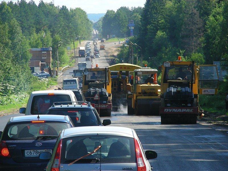 Штрафы на ремонт дорог