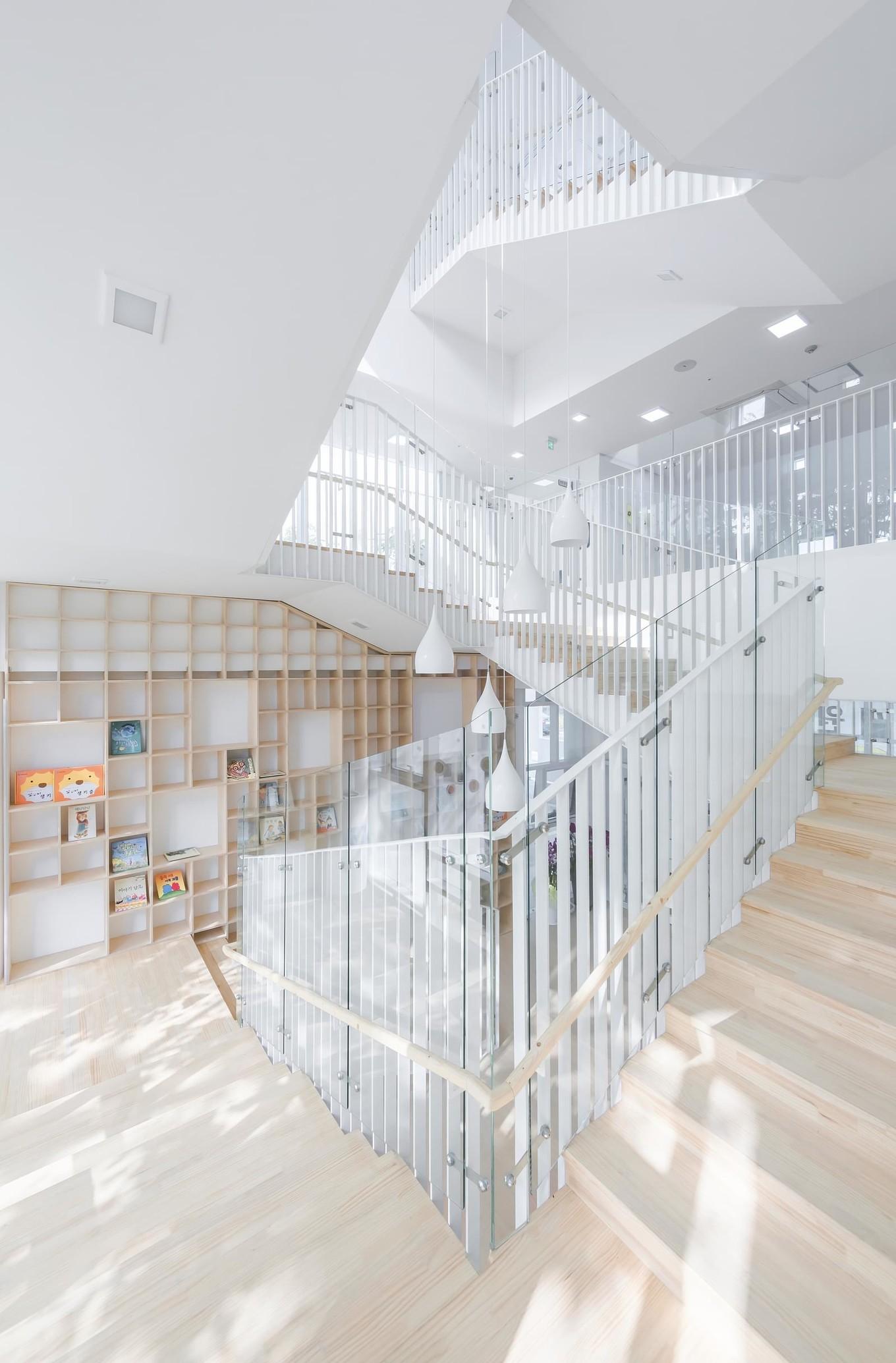 Интерьер и архитектура детского сада в Южной Корее