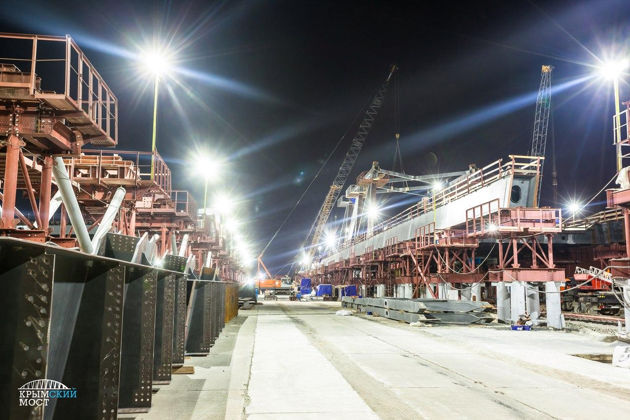 керченский мост ход строительства фото кажется уставшей