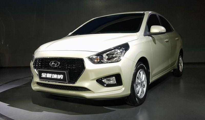 Дешевле некуда: представлен новый бюджетный седан Hyundai Reina