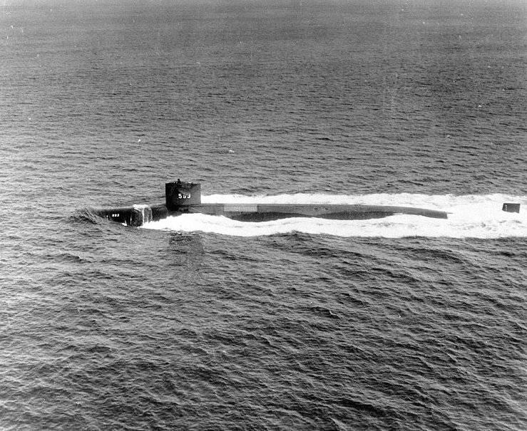 ВМС США раскрывают отчет расследования гибели USS Thresher  вмф
