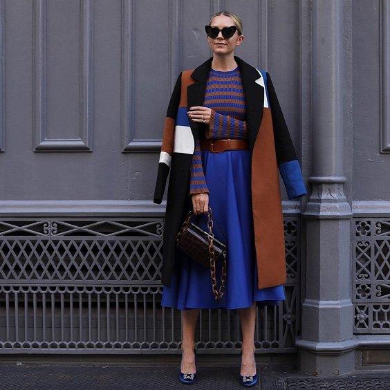 Как носить синий - самый модный цвет 2020 года фото №17