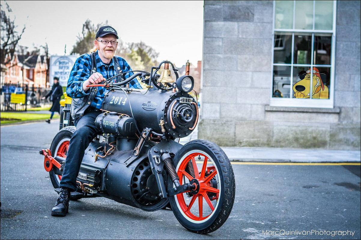 Паровой мотоцикл