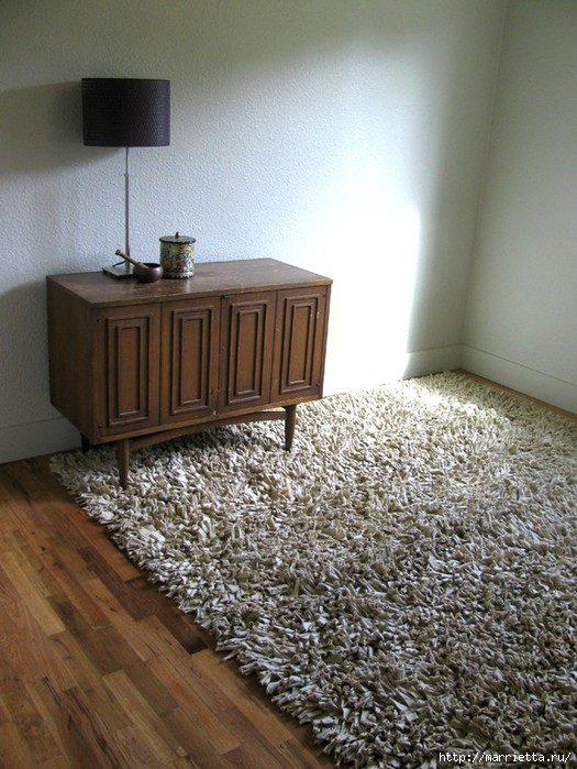 Коврики и подушки из трикотажа