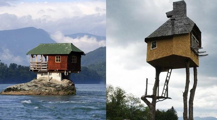 В этих домах могут жить только настоящие экстремалы