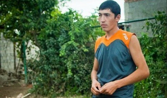 Рабочий из Таджикистана во в…
