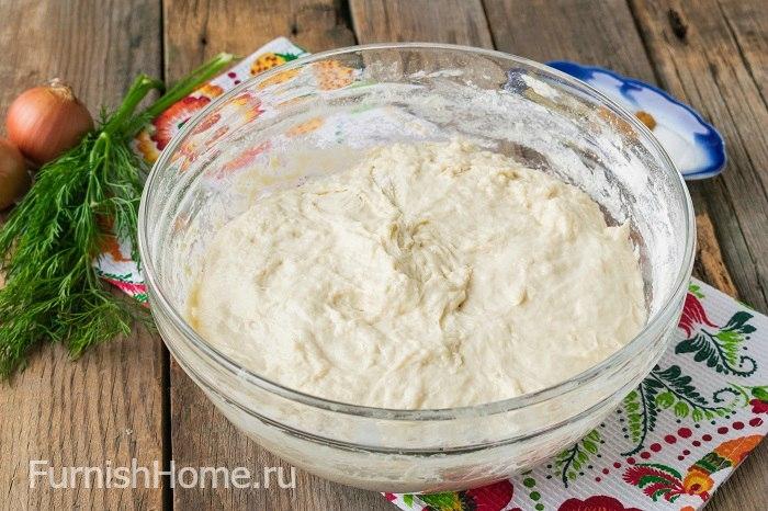 Жареные пирожки на картофельном отваре