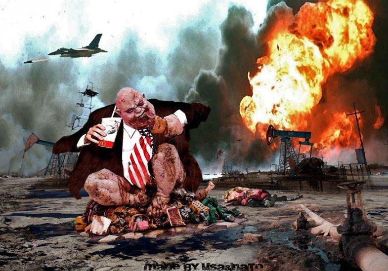 Мировой агрессор: США вмешивалась в дела 50 стран свыше 130 раз