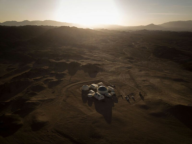 В пустыне Гоби создали симулятор марсианской базы