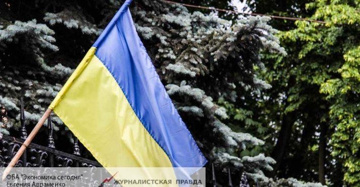 На Украине полиция не пускае…