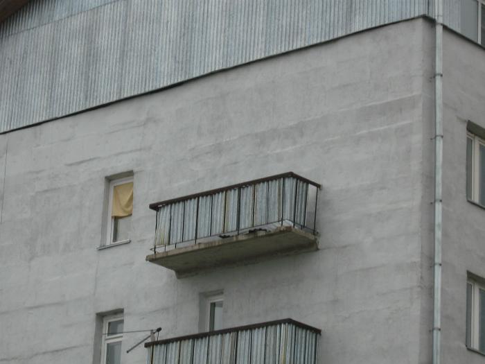 Бутафорский балкон.