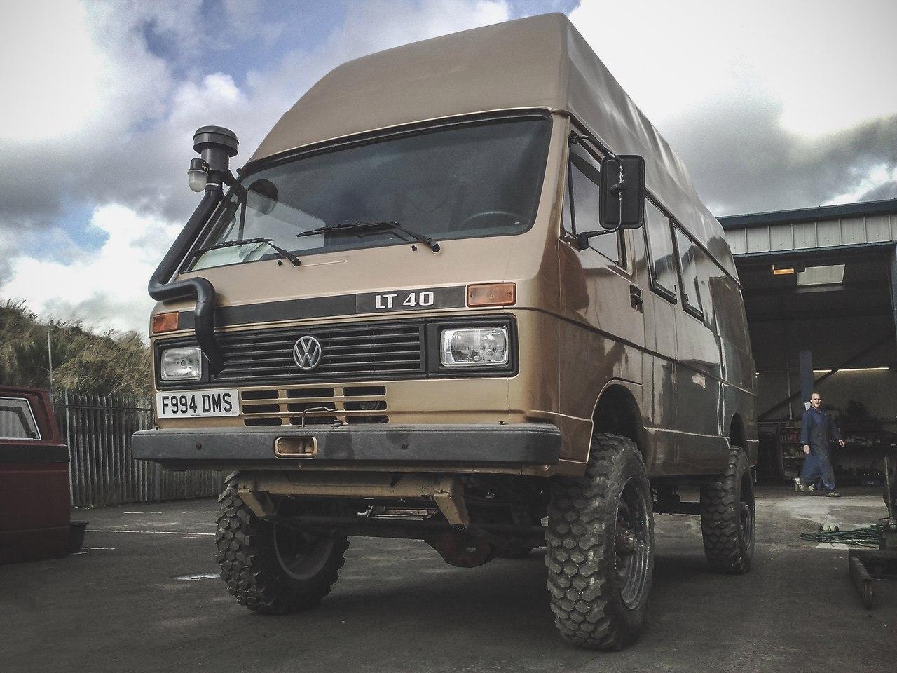 Полноприводный VW LT40 для внедорожных экспедиций